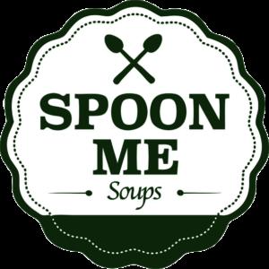 illustration text logo of Spoon Me